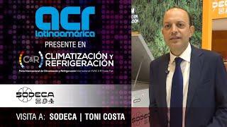 Visita a Sodeca durante Climatización y Refrigeración, Madrid 2019