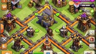 NEW CLASH OF CLANS UPDATE INFO! TH11 AND TH10 FARMING BASE 275 WALLS!