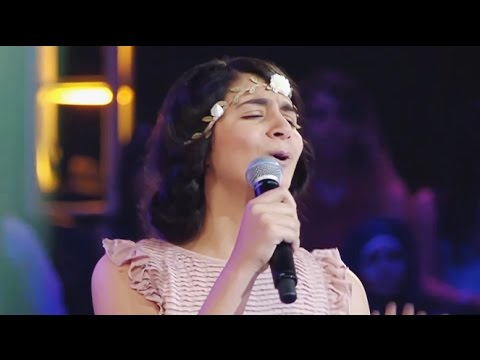 فيديو ميرال ونهيلة القليعي واحمد حسن يا سيدي HD ذا فويس كيدز