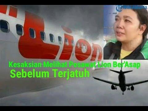 Kesaksian Seorang Driver Ojol Mengaku Melihat Pesawat Lion Air JT-610 Ber'Asap