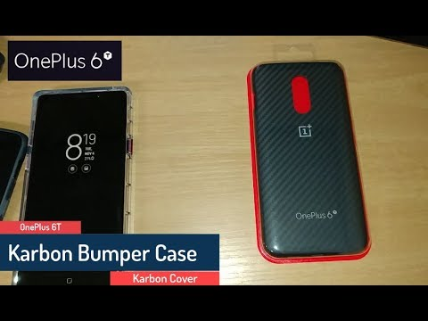 the latest 0974e fd117 OnePlus 6T - Karbon bumper case