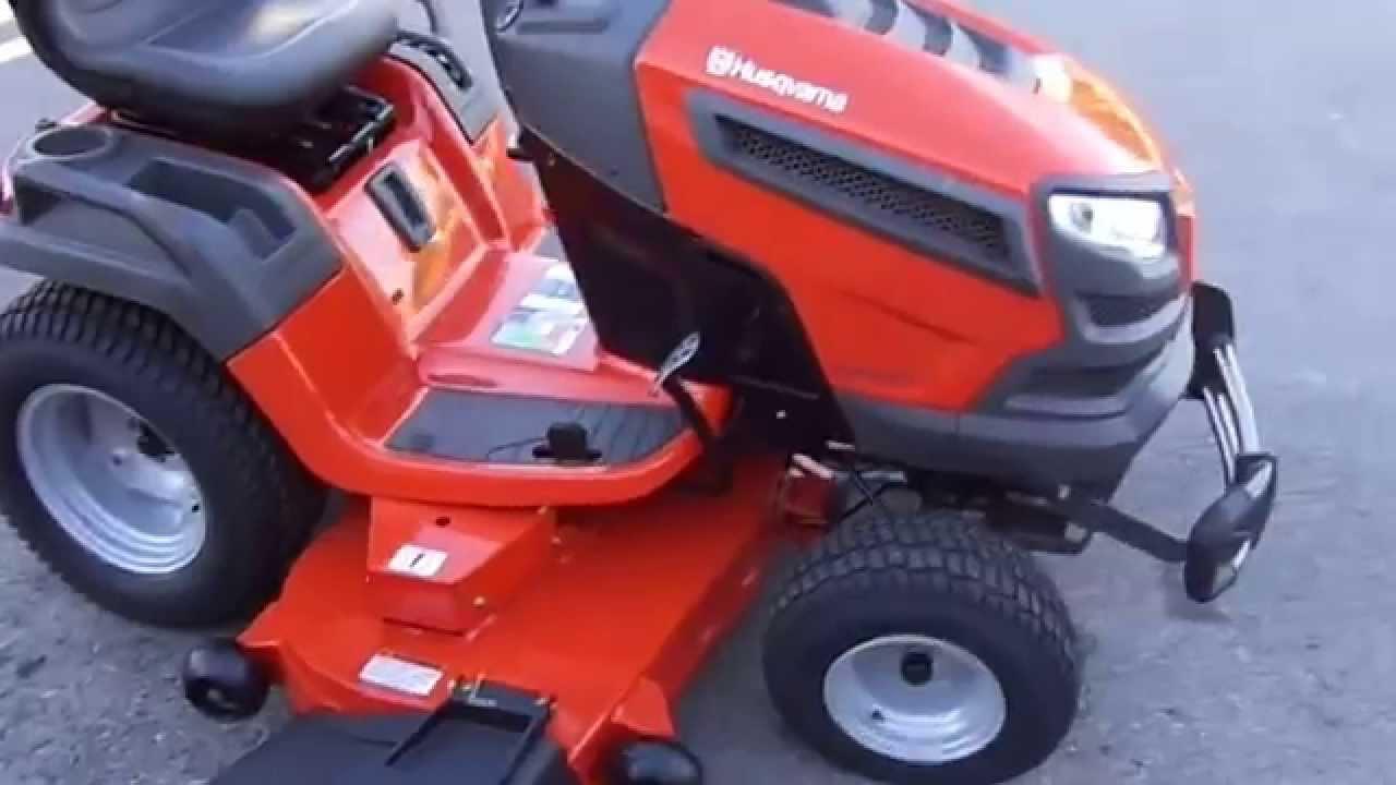 Husqvarna GT52XLS 52 Lawn Tractor Mower 24hp Kawasaki Engine