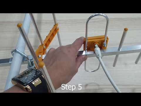 MYTV MYFREEVIEW UHF DVB T2 8elements Antenna Demo Installation Guide For Malaysia Channels