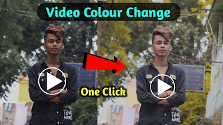 Cinematic Video Colour Grading From Android | Video Colour Changing From Android