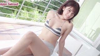Asian Swimsuit - Reimi Osawa  (大澤玲美) - Sporty Design 大澤玲美 検索動画 6