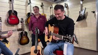 Collings Guitars Live con Alberto Lombardi e Moreno Viglione