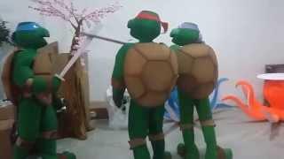 Fantasias das tartarugas ninjas