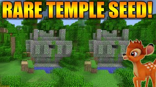 ★Minecraft Xbox 360 + PS3: TU30 Rare Double Jungle Temple Seed - Blacksmiths, Spawners, Villages!★