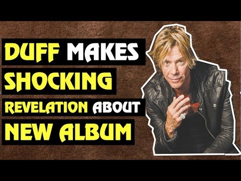 Guns N' Roses News  Duff McKagan Talks New Album & Touring Plans