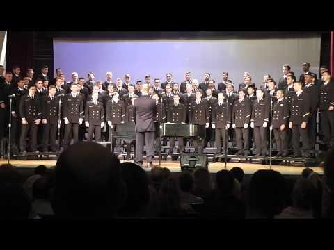 Anchor's Aweigh Medley - USNA Men's Glee Club 2014