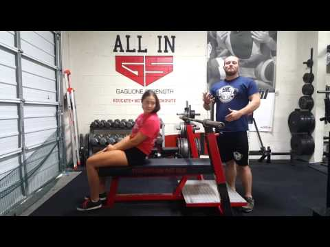 Keeping Your Butt Down on Bench - Fix It Friday