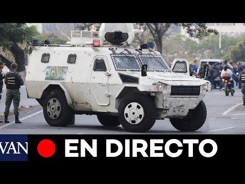 EN DIRECTO | Alzamiento militar contra Maduro en Venezuela