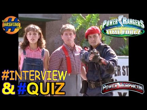 Power Rangers Time Force Cast Interview & Quiz from Power Morphicon 2014