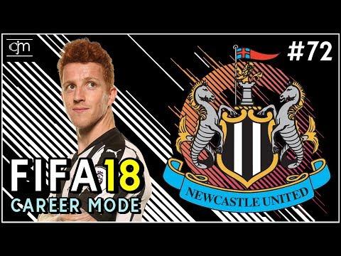 FIFA 18 Newcastle Career Mode: Adam Armstrong Kembali Jadi Penyerang Tengah The Magpies #72