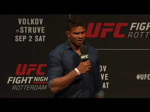Fight Night Rotterdam: Q&A w/ Overeem, Johnson & Oezdemir