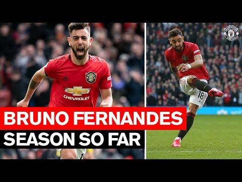 Season So Far | Bruno Fernandes | Manchester United 2019/20 HD