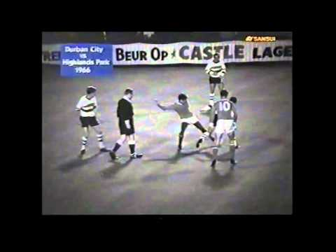 Highlands Park Vs Durban City   Champions of Champions 1966 Rand stadium
