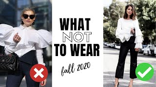10 Fall Fashion Trends To Avoi…