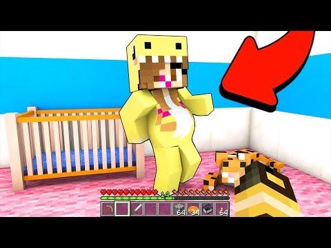MIA FIGLIA ASPETTA UN BAMBINO!! - Casa di Minecraft #56 thumbnail