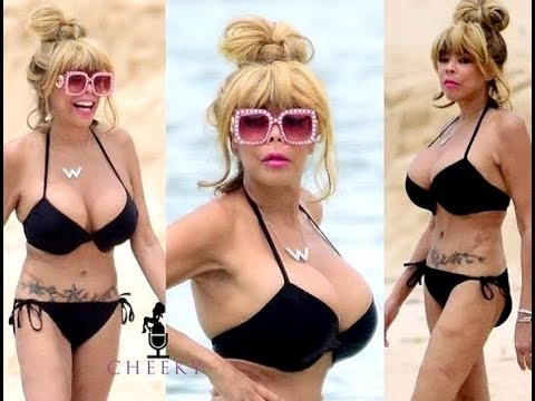 Wendy Williams Shows Off Slim Figure While Vacationing.