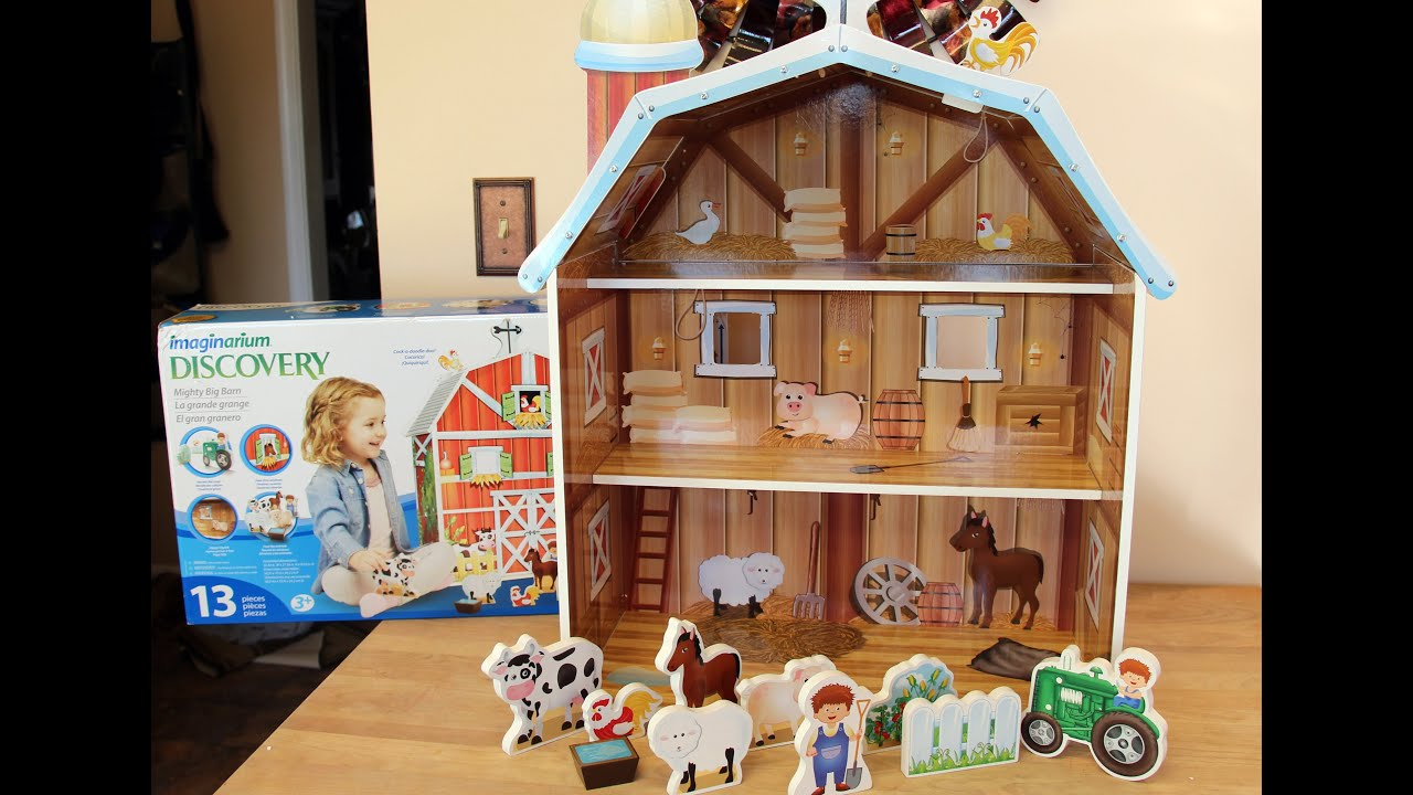 Toys Are Us Wooden Toys : Wooden toy barns wow
