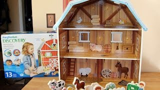 Imaginarium Mighty Big Barn - Toys R Us - Farm Animals Or Dolls