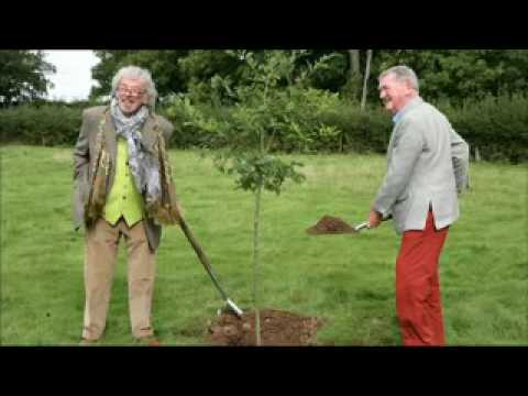 Felix Dennis writer and......... the planter of trees.  BC Countryfile
