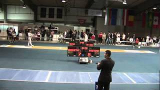 5022011 ms GP individual Plovdiv 32 blue RESHETNIKOV Veniamin RUS 11 vs PASTORE Giamoiero ITA 15 sd No