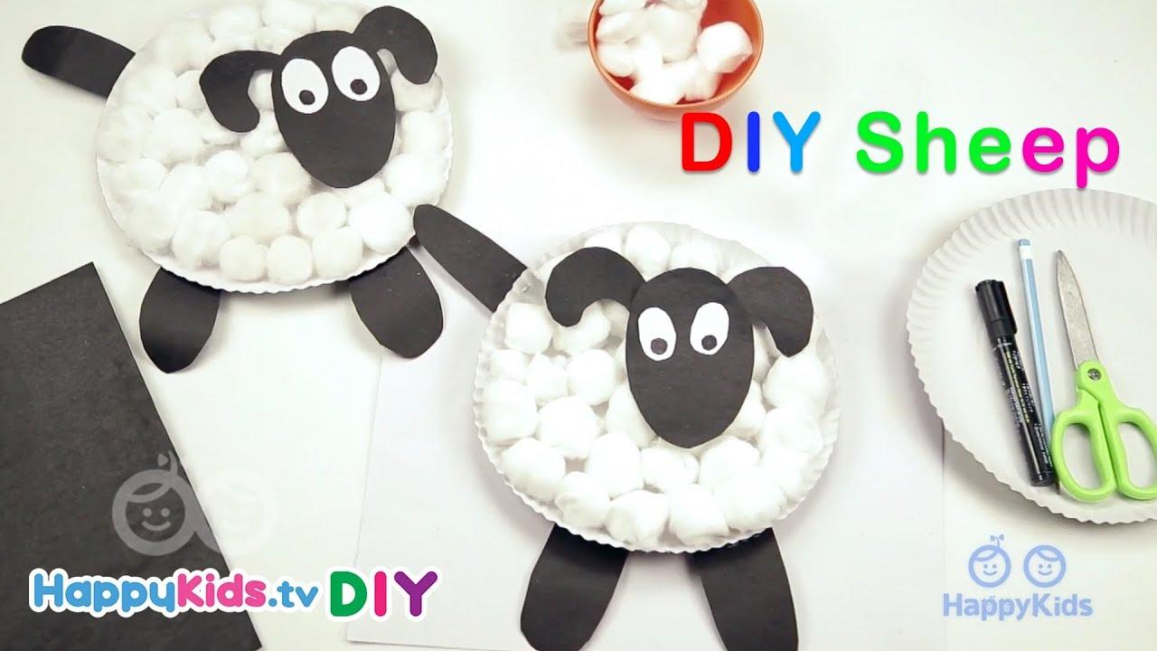 Diy sheep simple crafts kids crafts and activities diy sheep simple crafts kids crafts and activities happykids diy jeuxipadfo Images