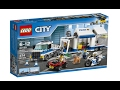 Lego City 60139 Mobile Command Center - Lego Speed Build