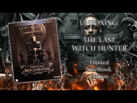 Unboxing - The last Witch Hunter - Limited Steelbook Edition
