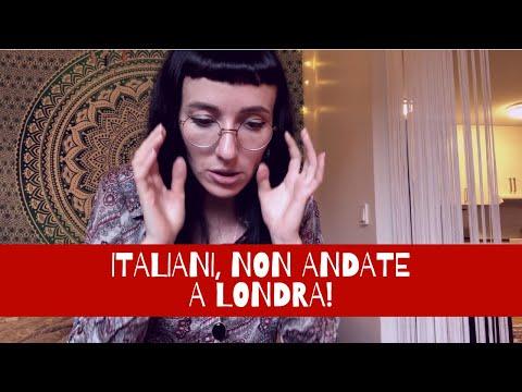 5 MOTIVI per cui gli ITALIANI NON DEVONO PIÙ ANDARE A LONDRA!