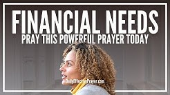 Prayer For Financial Needs | Powerful Prayers For Urgent Financial Need
