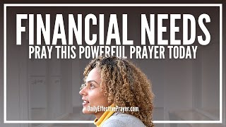 Prayer For Financial Needs - Prayers For Finances
