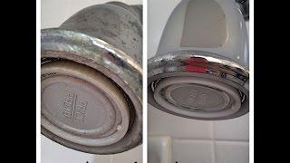 Deep Clean a Shower Head with Vinegar