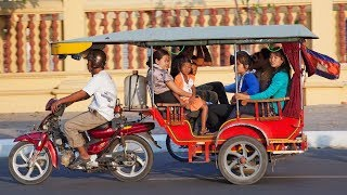 A Tuk Tuk Ride in Phnom Penh, Cambodia