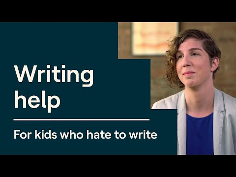 3 Writing Tips for Kids Who Don't Like to Write