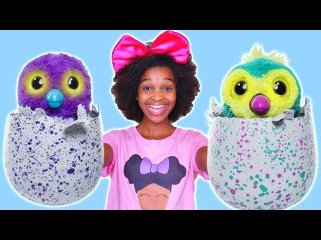 RECKLESS JOKER SHASHA Crushes Bad Baby Hatchimal Toy - Shiloh Toys Under Car! - Onyx Kids