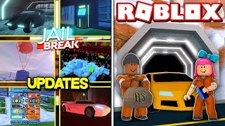 *NEW* ROBLOX JAILBREAK WINTER UPDATE 2018