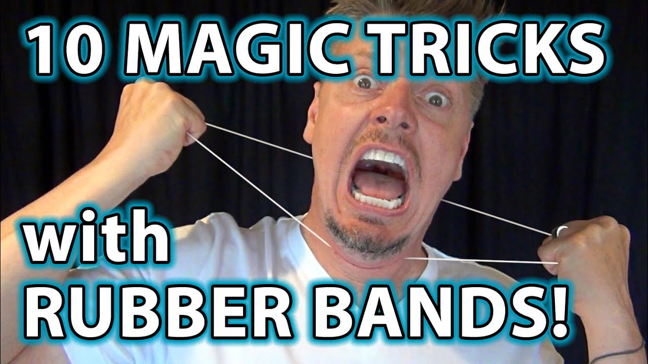 how to make rubber band tricks