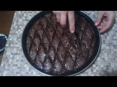 Şokoladlı Paxlava