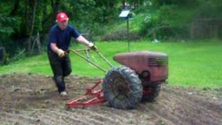 David Bradley Tractor at work With 4  Attachments YouTube Videos