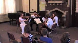 "Quartet No 12 in F Major Op 96 ""The American"" 2nd movement- Dvorak"