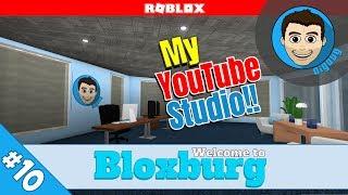 Roblox Welcome to Bloxburg : Ep 10 : Building My YouTube Studio!!