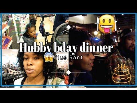 Hubby birthday dinner plus rant  Interracial family  Biracial family