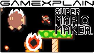 Meteorites in Mushroom Kingdom - Super Mario Maker Level Showcase