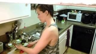 Hot In The Kitchen 10 -  Quinoa, Kale And  Avocado Salad Recipe