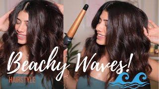 HOW TO : Beachy Waves! My fav …