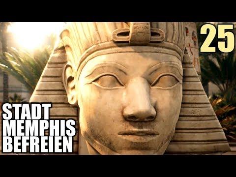 Assassin's Creed Origins Gameplay German #25 Stadt Memphis befreien | Let's Play Deutsch