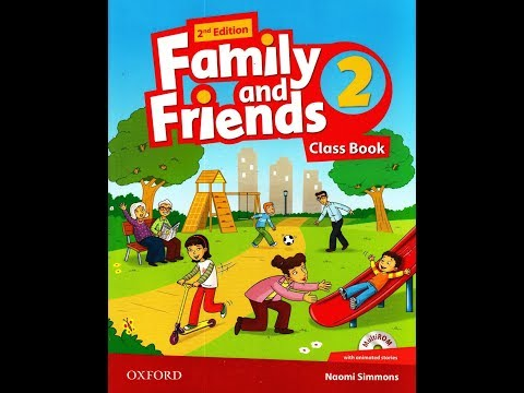 Family And Friends 2 2nd Edition English For Kids